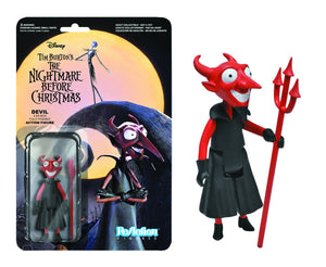 NIGHTMARE BEFORE CHRISTMAS REACTION FIGURE DEVIL