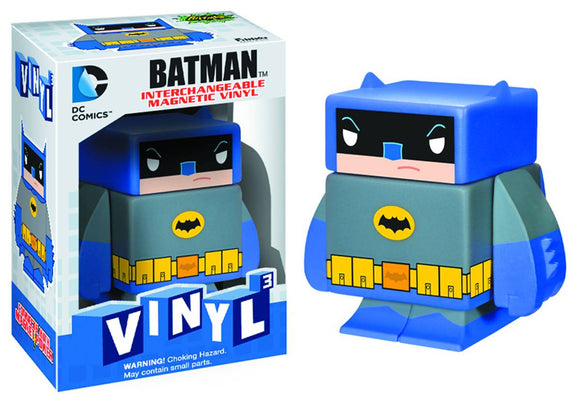 DC COMICS VINYL 3 TV BATMAN