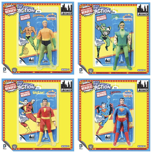 DC SUPER POWERS 8-IN RETRO AF SER 1 SHAZAM