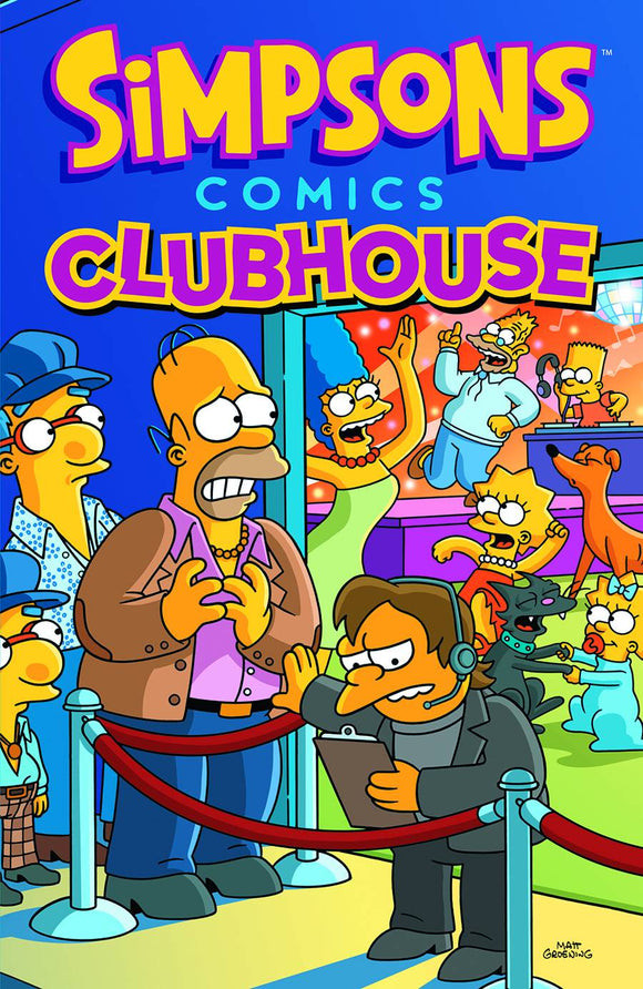 SIMPSONS COMICS CLUBHOUSE GN