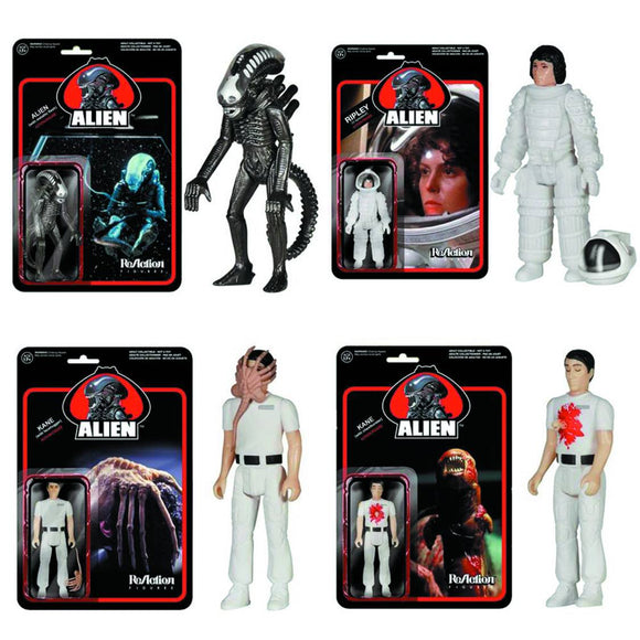 ALIEN REACTION ACTION FIGURE SPACESUIT RIPLEY