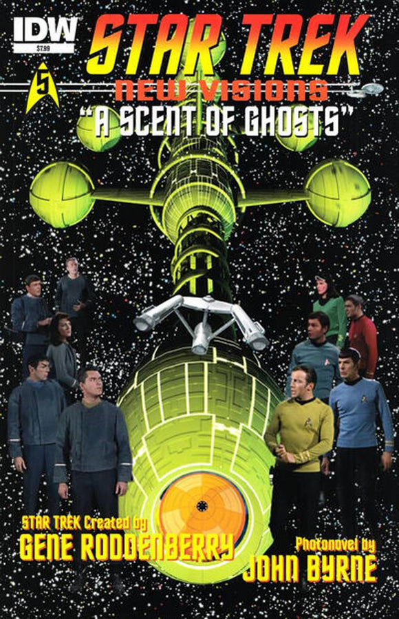 STAR TREK NEW VISIONS A SCENT OF GHOSTS