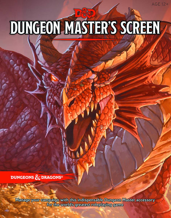 D&D RPG DUNGEON MASTERS SCREEN REINCARNATED