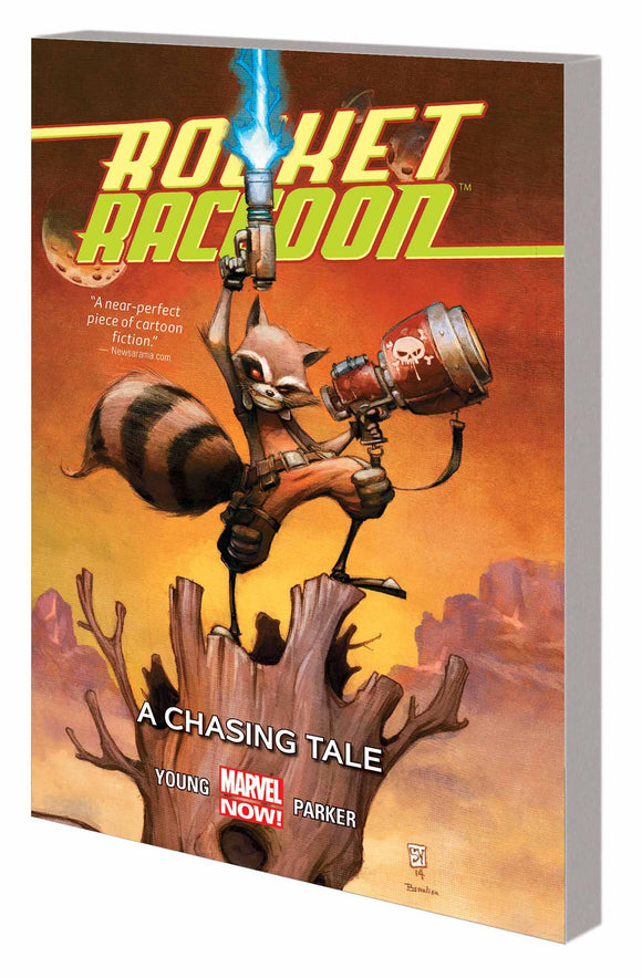 ROCKET RACCOON TP VOL 01 A CHASING TALE