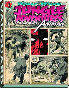WALLY WOOD JUNGLE ADV JIM KING & ANIMAN SC