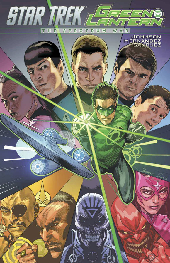 STAR TREK GREEN LANTERN TP SPECTRUM WAR VOL 01