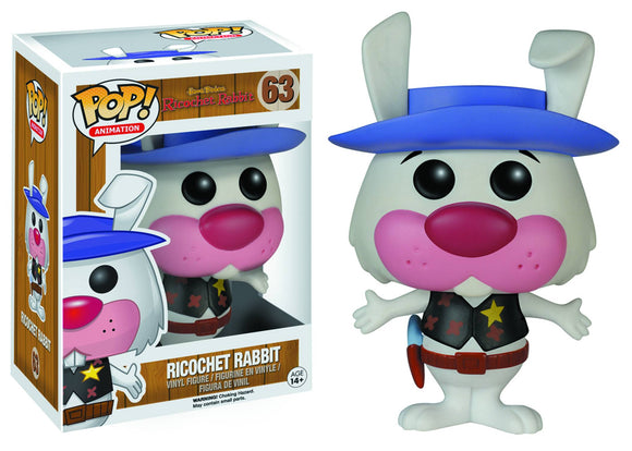 POP ANIMATION 63 RICOCHET RABBIT VINYL FIG