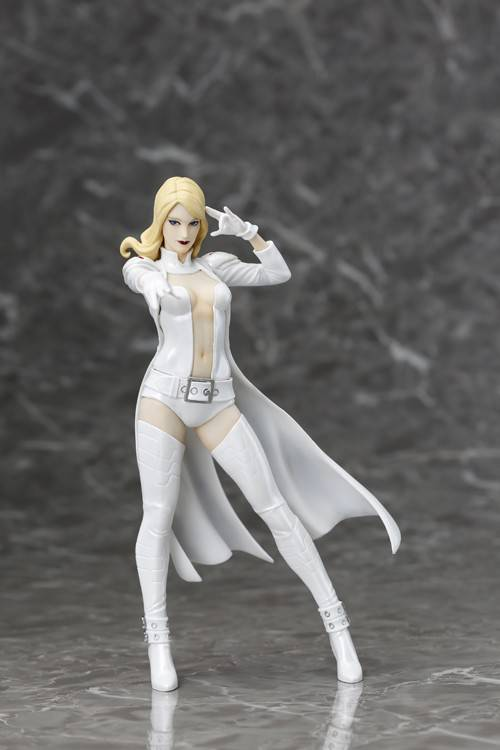 SDCC 2016 MARVEL NOW PX EMMA FROST WHITE COSTUME ARTFX+ STAT