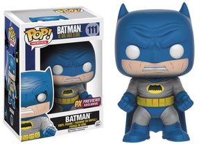 POP DC HEROES DARK KNIGHT RETURNS BATMAN BLUE PX VINYL FIG