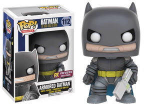 POP DC HEROES DARK KNIGHT RETURNS ARMORED BATMAN PX VINYL FIG