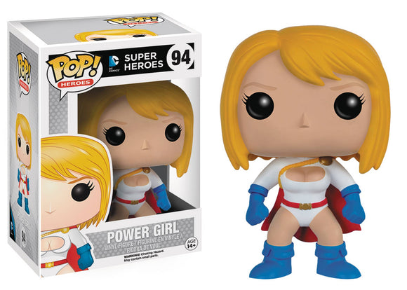 POP HEROES 94 POWER GIRL VINYL FIG