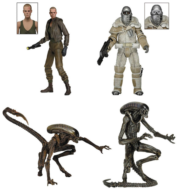 ALIENS 7IN SCALE AF SERIES 8 ELLEN RIPLEY (FIORINA 161 PRISONER)