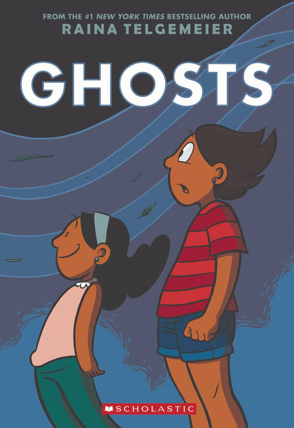 RAINA TELGEMEIER GHOSTS GN