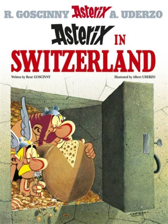 ASTERIX #16 ASTERIX IN SWITZERLAND