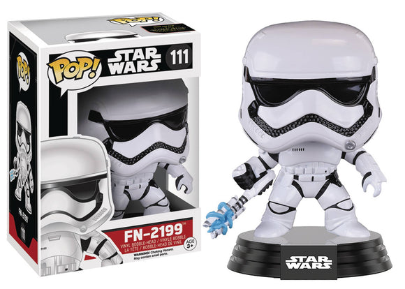 POP STAR WARS 111 EP7 FN-2199 VINYL FIG