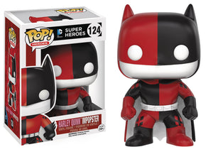 POP HEROES 124 BATMAN HARLEY QUINN IMPOPSTER VINYL FIG