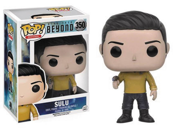 POP MOVIES 350 STAR TREK BEYOND SULU VINYL FIG