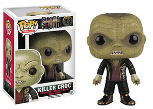 POP HEROES 102 SUICIDE SQUAD KILLER CROC VINYL FIG