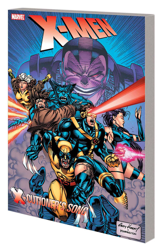 X-MEN X-CUTIONERS SONG TP NEW PTG