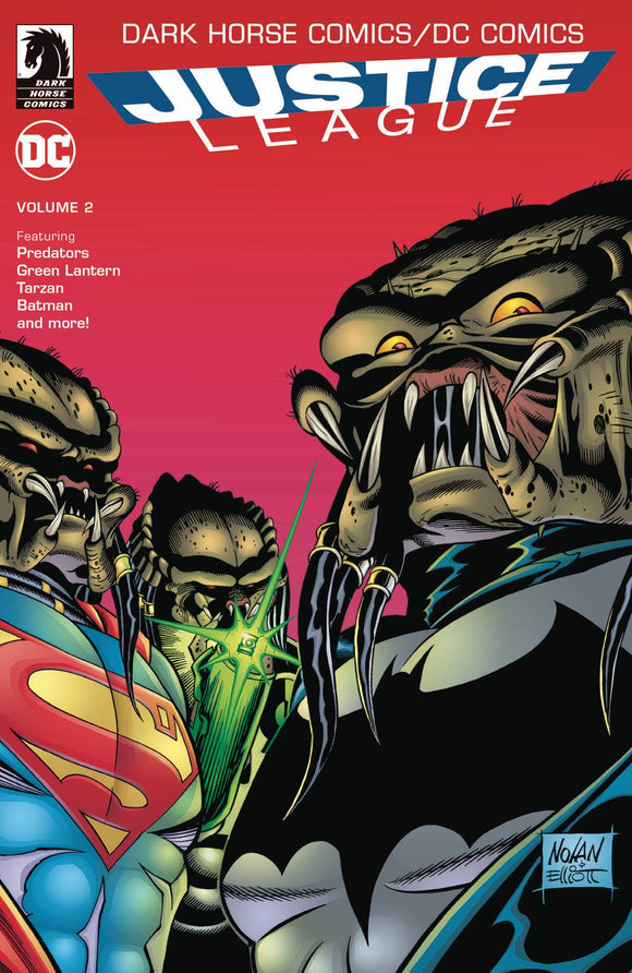 DC COMICS DARK HORSE COMICS JUSTICE LEAGUE TP VOL 02