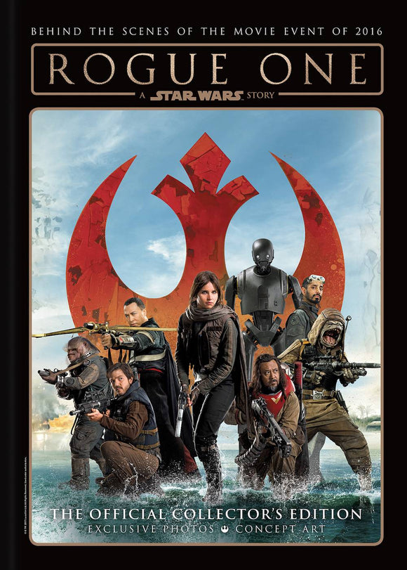 STAR WARS ROGUE ONE OFFICIAL SOUVENIR HC