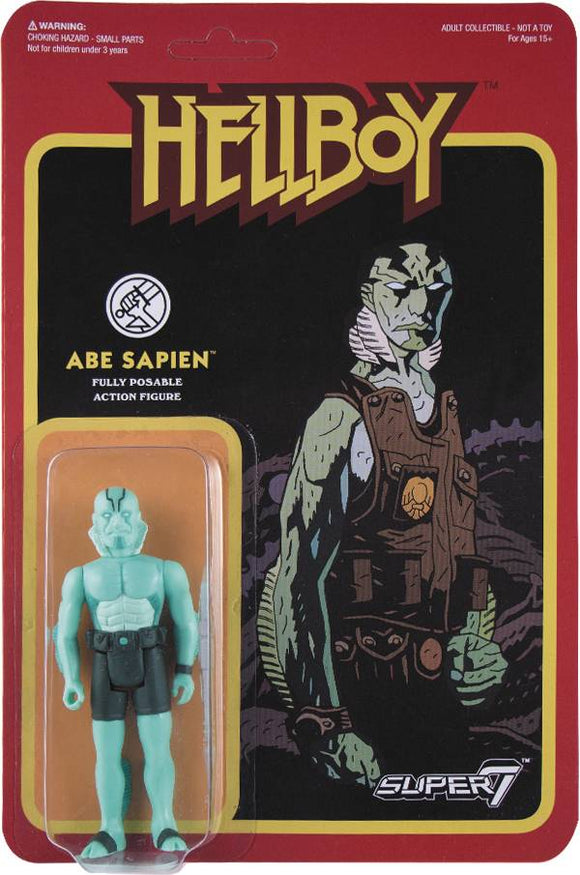 REACTION HELLBOY ABE SAPIEN ACTION FIGURE WAVE 1