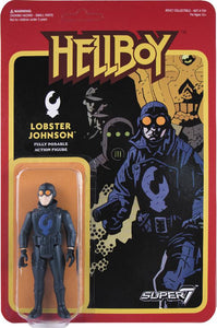 REACTION HELLBOY LOBSTER JOHNSON ACTION FIGURE WAVE 1