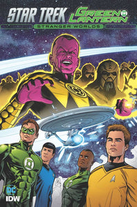 STAR TREK GREEN LANTERN TP VOL 02 STRANGER WORLDS
