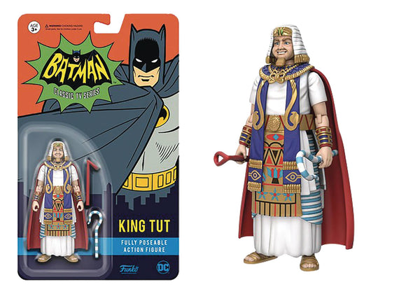 DC HEROES ACTION FIGURE BATMAN 66 KING TUT