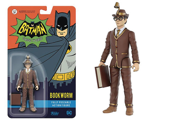 DC HEROES ACTION FIGURE BATMAN 66 BOOKWORM