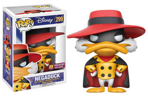 POP DISNEY 299 DARKWING DUCK NEGADUCK PX VINYL FIGURE