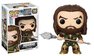 POP MOVIES 205 JUSTICE LEAGUE AQUAMAN