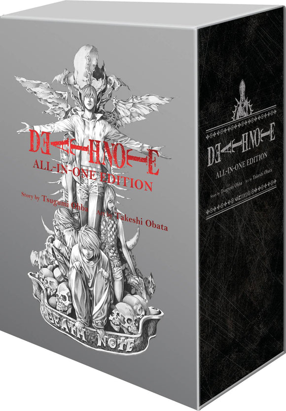 DEATH NOTE SLIPCASE GN ALL IN ONE EDITION