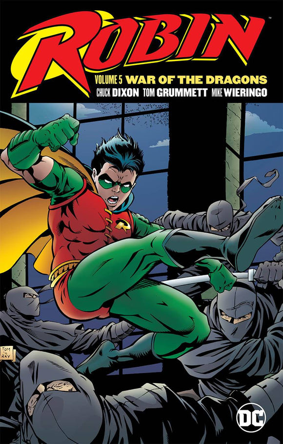 ROBIN TP VOL 05 WAR OF THE DRAGONS