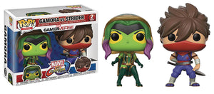 POP GAMES 2-PACK MARVEL VS CAPCOM GAMORA VS STRIDER