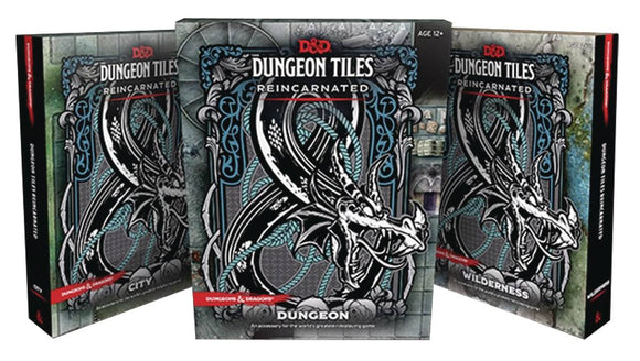 D&D RPG DUNGEON TILES REINCARNATED DUNGEON