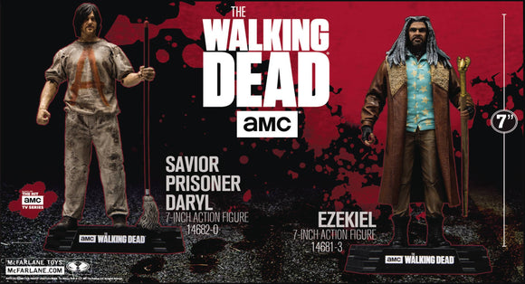 WALKING DEAD TV 2017 SER1 SAVIOR PRISONER DARYL AF