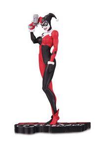 HARLEY QUINN RED WHITE & BLACK STATUE BY MICHAEL TURNE