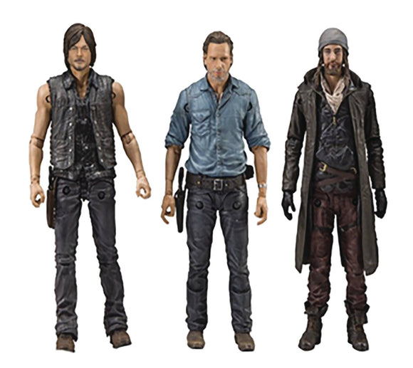 WALKING DEAD TV ALLIES DLX AF SET
