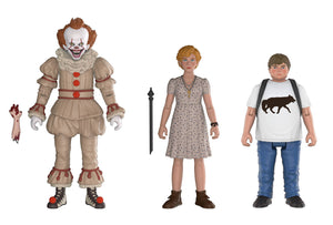 IT ACTION FIGURE 3PK 2 PENNYWISE BEVERLY & BEN