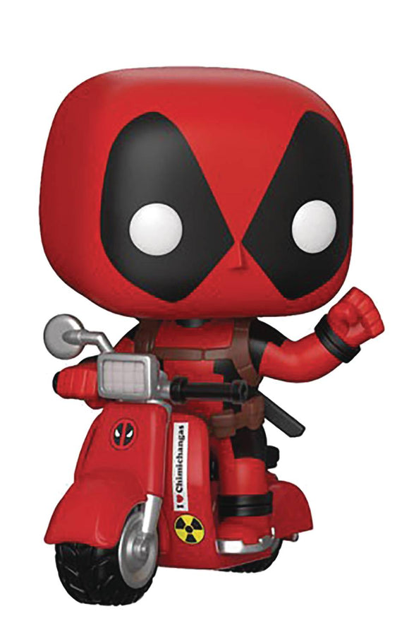POP RIDES 48 DEADPOOL & SCOOTER