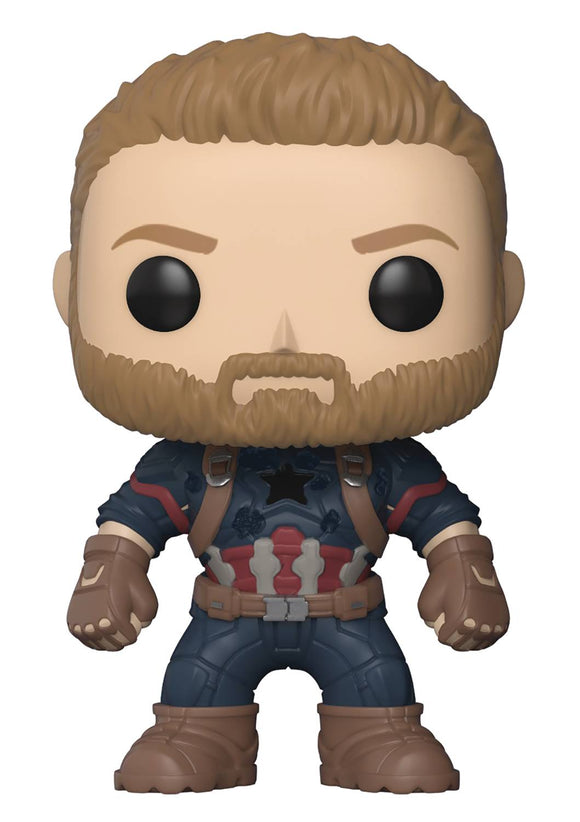 POP MARVEL 288 AVENGERS INFINITY WAR CAPTAIN AMERICA