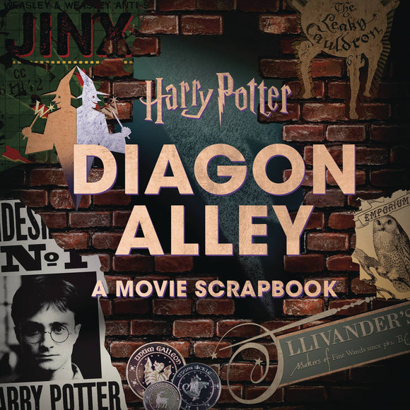 HARRY POTTER DIAGON ALLEY ARTIFACT VAULT HC