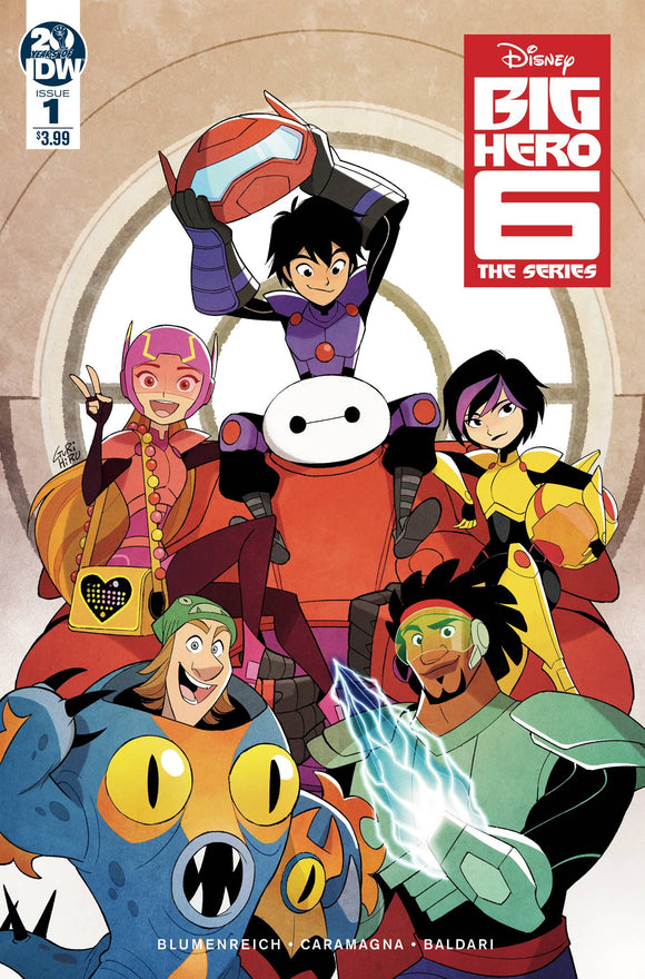 BIG HERO 6 THE SERIES #1 CVR A GURIHIRU