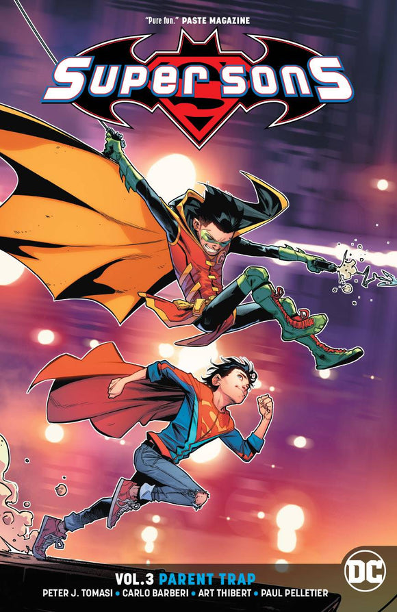 SUPER SONS TP VOL 03 PARENT TRAP