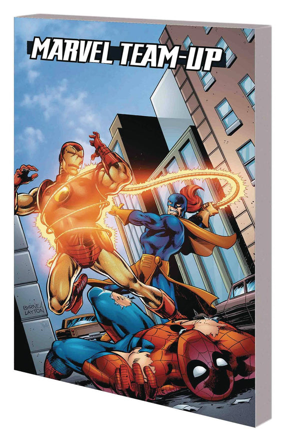 SPIDER-MAN IRON MAN MARVEL TEAM-UP TP