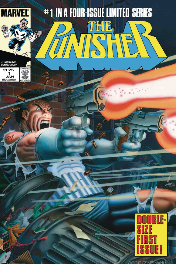TRUE BELIEVERS PUNISHER BY GRANT & ZECK #1