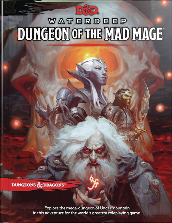 D&D RPG WATERDEEP DUNGEON MAD MAGE HC