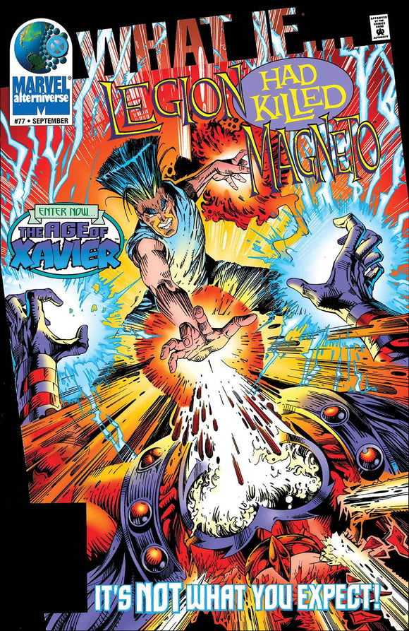 TRUE BELIEVERS WHAT IF LEGION KILLED MAGNETO #1
