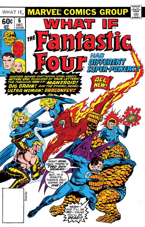 TRUE BELIEVERS WHAT IF THE FF HAD DIFFERENT SUPER-POWE
